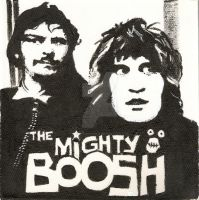 Mighty Boosh Portrait by trickyvicky1978