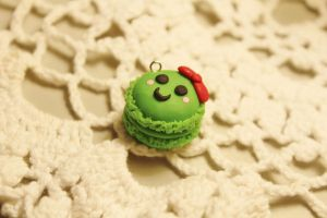 Polymer Clay Macaroon by CharmStop