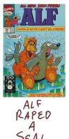 Ugly Comic Covers: Alf by RomanJones