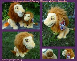 2011 London Disney Store Adult Simba by DoloAndElectrik