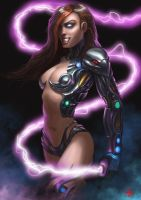 Sci-Fi Witchblade by janniklind