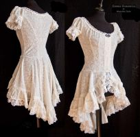 Little ivory dress, Somnia Romantica by M. Turin by SomniaRomantica