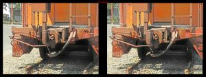 Cross view 3D Train Coupling by shawnrl61