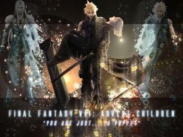 Final Fantasy VII Wallpaper by ArkaneApocolypse
