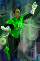 Green Lantern of Sector 2814 by sturkwurk