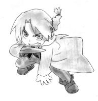 Edward Elric Chibi by Walkenn