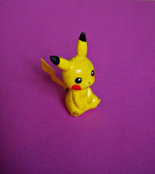 clay pikachu by princetheripper33