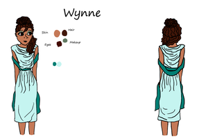 The Reference Project 2: Wynne by AngelAndChangeling