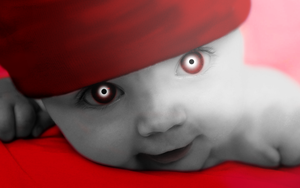 Real baby Red by Knife-Girl