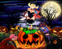 Happy Halloween Fairy Tail by nina2119