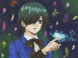 Ciel - Butterflies by winry7405