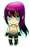 Tiny Chibi: Malia by manu-chann