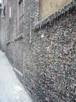 Gum Wall by burgeryoyo