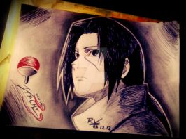 Uchiha Itachi Tribute by Robert-Sennin