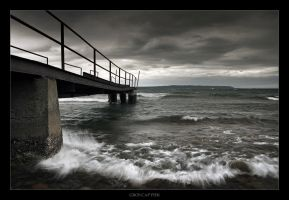 Gros Cap Pier by tfavretto