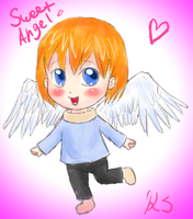 Happy and Sweet Angel :D by DarkChocaholic