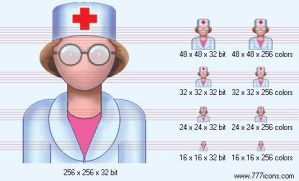Optometrist Icon by medical-icon-set