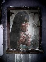 Zombie Reflection by lordkelvelos