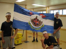Rundle Platoon Flag 2009 by ChapterAquila92