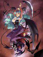 Darkstalkers Tribute by Miladymorigane