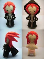 Axel Plushie Voodoo Doll Style by auragoth