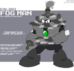 DIN-003 - Fog Man by LuigiStar445