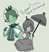 Miss Past  And Futrue dude by Ask-Melanie-The-Toy