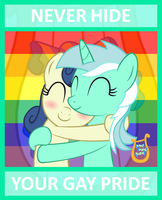 Not Gay BTW just very supportive by bronybyexception
