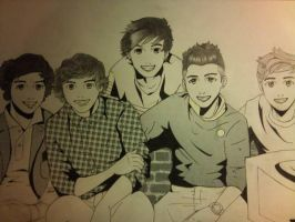 One Direction by LazyGamer96