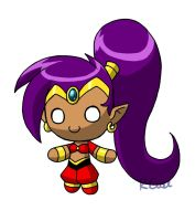 Plushie Shantae by rongs1234