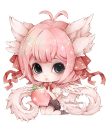 [Project Revelation] Aelita Chibi by Vanilla-Cherie