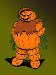 Pumpkinman by JohnnyFive81