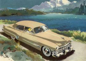 prelude to the  age of chrome and fins: Cadillac by Peterhoff3