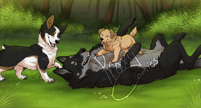 Play time! (do not repost) by ProxyComics