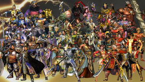 Dynasty Warriors 6 Roster by The4thSnake
