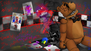 FNaF reddit contest: Stress Relief by Winged-Dragoness