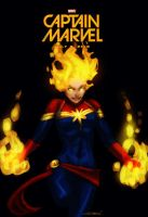 Captain Marvel MOVIE by toherrys