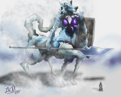 Hod, god of Ice and Snow by Sathiest-Emperor