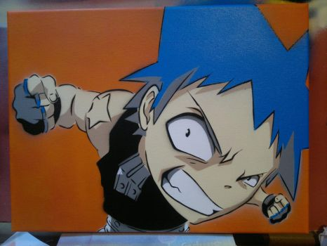 BlackStar - Soul Eater by GreenaGene