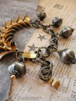 Mixed metals bracelet by janedean