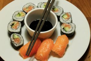 Home made sushi by yvsan