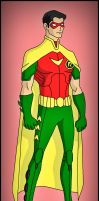 Robin 2 - New 52 by DraganD