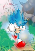 Classic Sonic CD by DunaLonghorn