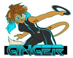 OC - Ginger Badge by starinthegutter