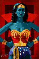 Wonder Woman by Monzer