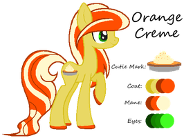 MLP:Orange Creme Profile by kiananuva12