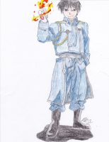 Roy Mustang- The Flame Alchemist by xbandgeekgirlx