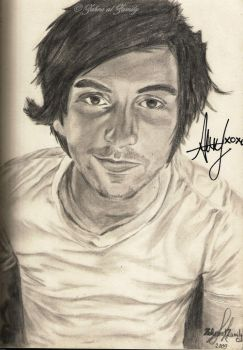 My Alex drawing SIGNED by ALEX by xSpeechless