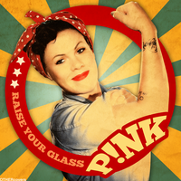 Pink - Raise Your Glass by other-covers