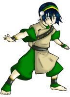ATLA : Toph Bei Phong by DaRknESs-FlAmE-FOX